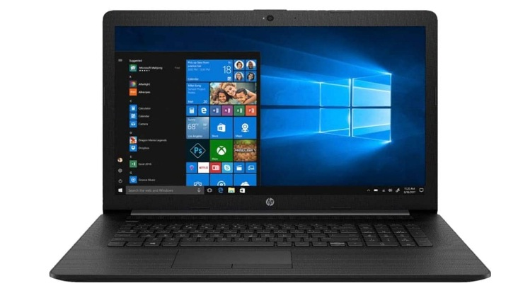 HP (17-BY1053DX) 17.3 Laptop - Core i5-8265U - 8GB Memory - 256GB Solid State Drive