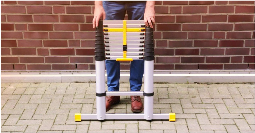 how to use telescoping ladder