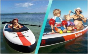 funwater cruise 11 paddle board review