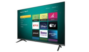 Hisense 32-Inch Class H4 Series LED Roku Smart TV with Google Assistant and Alexa Compatibility