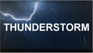 difference between isolated and scattered thunderstorms